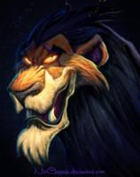 Disney Villains Scar REMASTERED by NicChapuis
