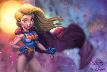 Super Girl by Tom Bancroft by NicChapuis