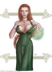 Rowan - Kibberan Witch by Calico-Tiger
