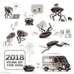Robot Dogs by bbrunomoraes