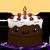 Vanilla chocolate cake by Pikuniku