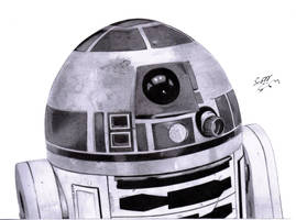 R2-D2 by rolandflagg