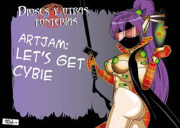Art jam Let's get cybie-01 by Zeentury