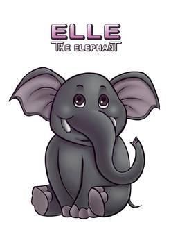 27f42e3b221bf Elle The Elephant Mascot by miycko on DeviantArt