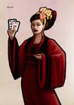 Cardgame3  Empress by miycko