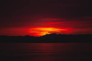 Sundown by augustmobius