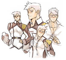 Captain Shirogane by Damare