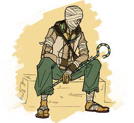 Zuka the Mumiya by lordturtlemonk