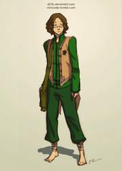 Benjiro: Avatar LoK OC by lordturtlemonk
