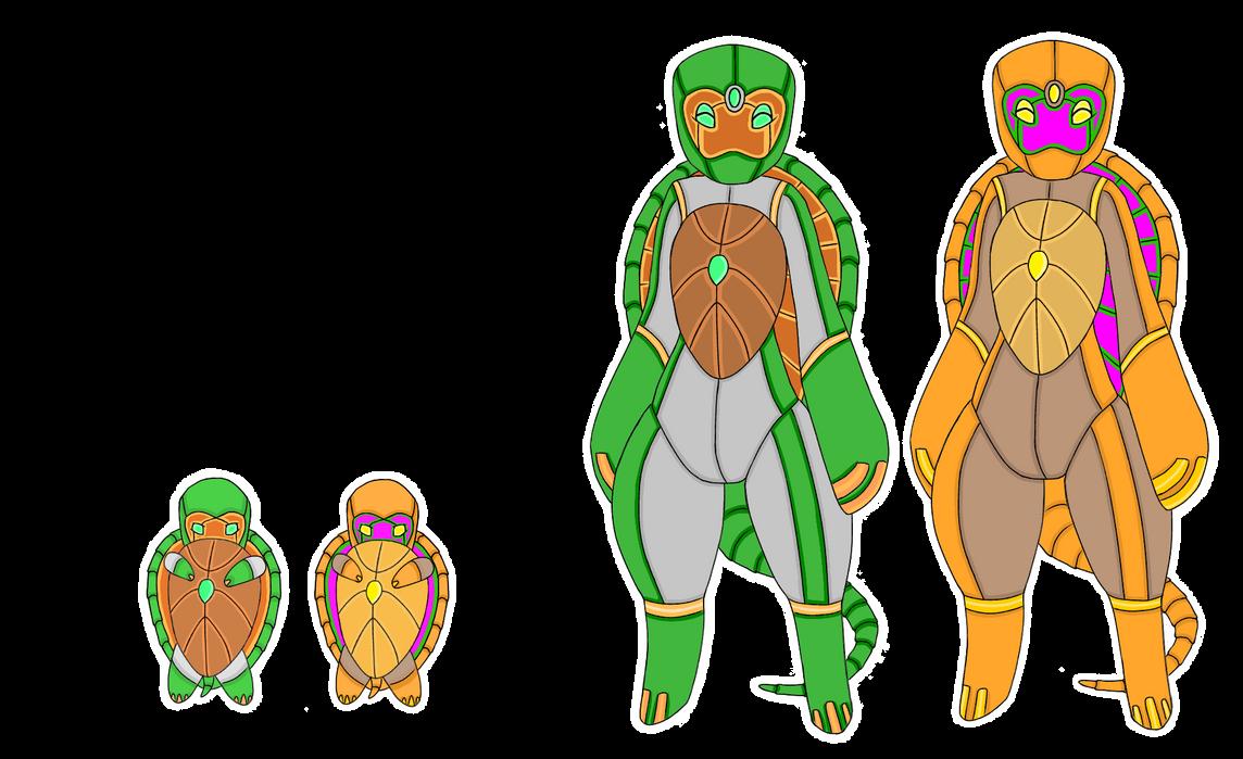Chelem, Turtle Golem Temtem by lordturtlemonk
