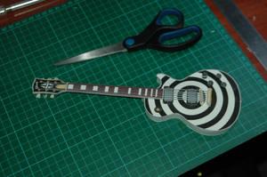 LP Zakk Wylde Papercraft 1 by FantomeDeLaMusique