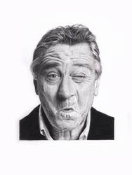 Robert De Niro by PacoMolinari