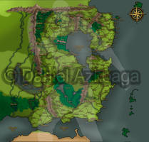 Fantasy Map by Engorn