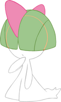 ~PokeBase~ Ralts by YukiMemories