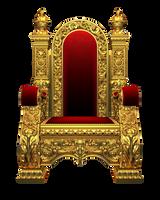 Chair - Kingchair PNG Stock by Gilgamesh-Art