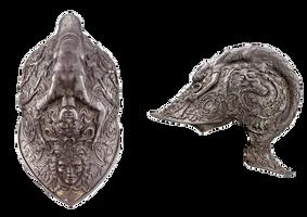 Armor Helmet 2 - PNG Stock by Gilgamesh-Art