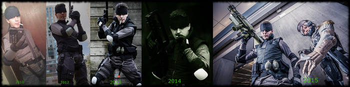 Evolution of Snake (2010-present) by mustang-revolver
