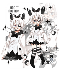 [closed_auction] kemonomimi adopt by Himetochan