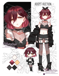 [closed_auction] smol adopt4 by Himetochan