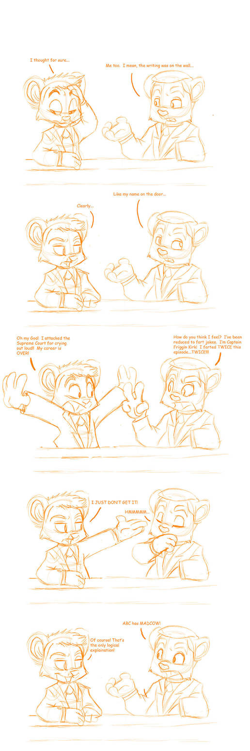 Scraps: BL Renewal Comic by nanook123