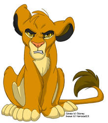 Simba is le Angry by nanook123