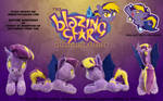 Blazing Star 3.0 Plush by nanook123