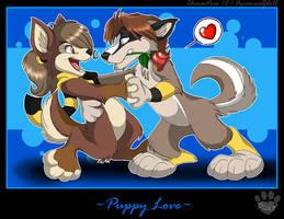 Puppy Love by nanook123