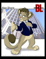 Fuzzy Legal:  Alan Shore by nanook123