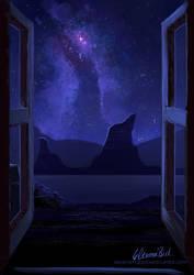 Nightsky by elbdot