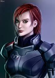Shepard by chaosbringer99