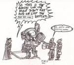 Mule Warjack by Inquisitor-Hein