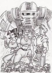 Bender's Angels by Inquisitor-Hein