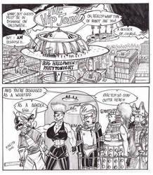 Futurama Halloween 2012 by Inquisitor-Hein