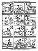 Teatime with Mister Octopus by Twelfthgecko