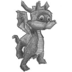 Spyro the Dragon by webD97