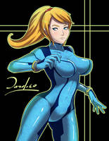 Samus Aran Zero Suit by Dazol1