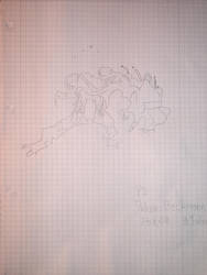 My sister drawing Venom by 2und2sind4