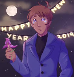 New Year 2019 by acuppacrylics