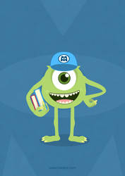 Mike - Monster University by hotamr