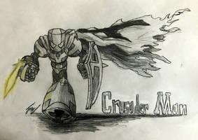 Robot Master OC: Crusader Man by Jo3-R6e
