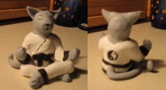 Feline Meditation by snugglekitty