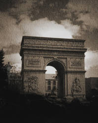 no title (arch gate pictorial) by filmnoirphotos