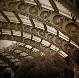 no title (nouveau roof pictorial) by filmnoirphotos