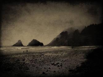 no title (oregon coast pictorial) by filmnoirphotos