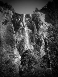 untitled (bridal veil falls - late in season) by filmnoirphotos