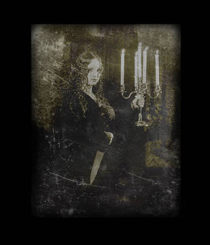 untitled (knife and candles) by filmnoirphotos