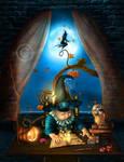 Halloween Story by JoeDiamondD