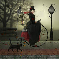 A Ride with Penny Farthing by JoeDiamondD
