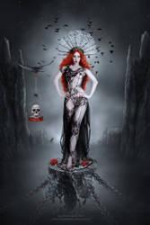 Queen of Darkness by JoeDiamondD
