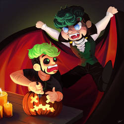 Anti's Halloween Surprise by Liljoja
